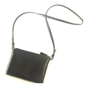 Everyday Black Over the Shoulder Purse